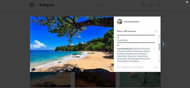 Scaricare foto da Instagram