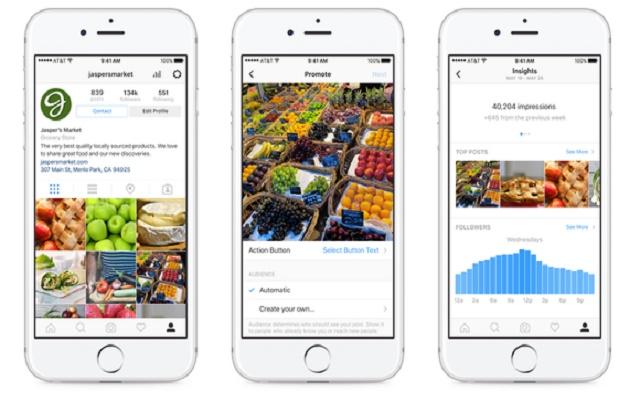 profili business Instagram