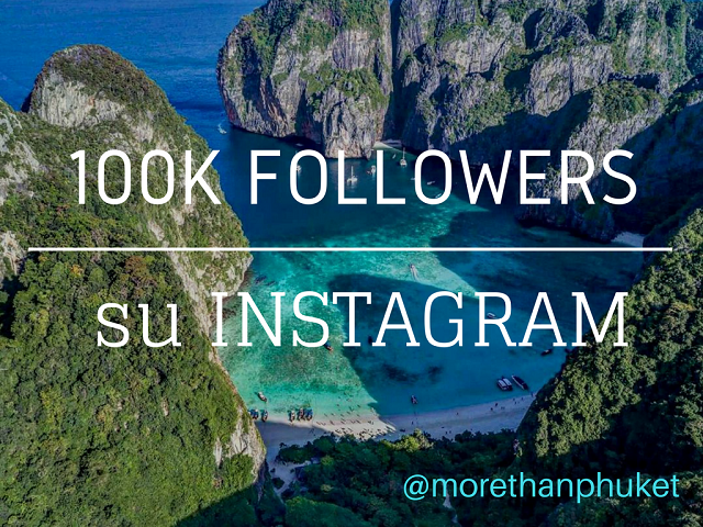 100.000 followers su Instagram