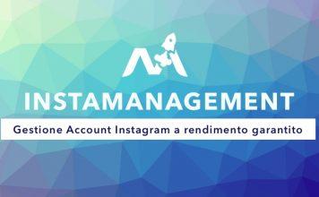 gestione account Instagram