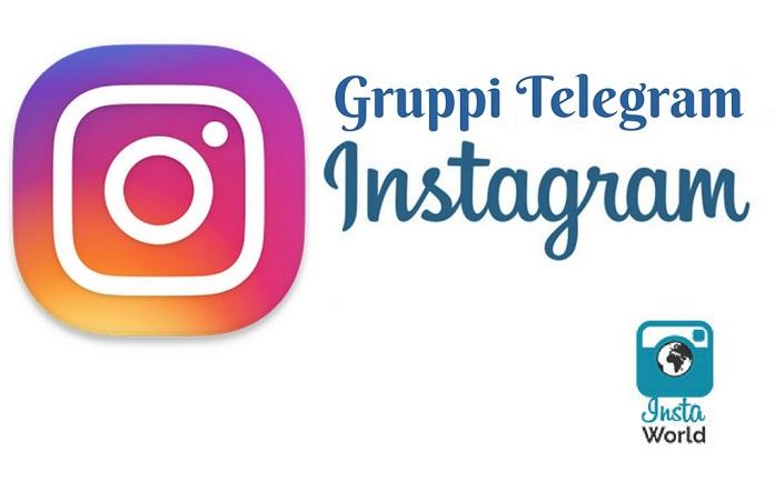 Gruppi Telegram Instagram