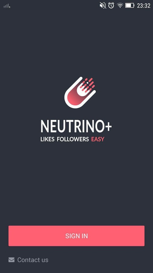 Neutrino+ App Instagram