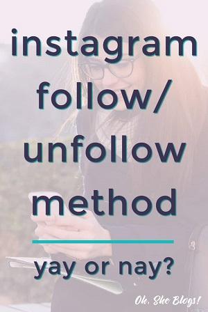 Instagram Follow Unfollow