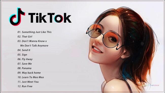 TikTok canzoni trend