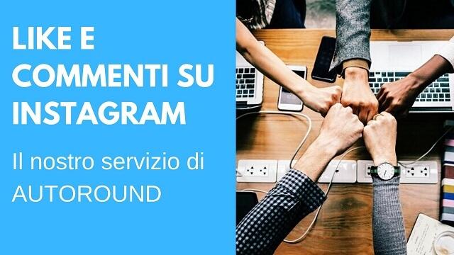 come avere like e commenti in italiano su Instagram